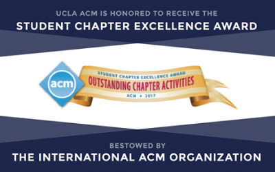 UCLA ACM Receives Student Chapter Excellence Award