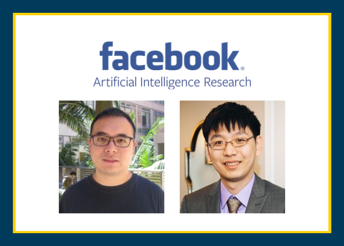Professors Hsieh and Chang Receive Facebook Research Award