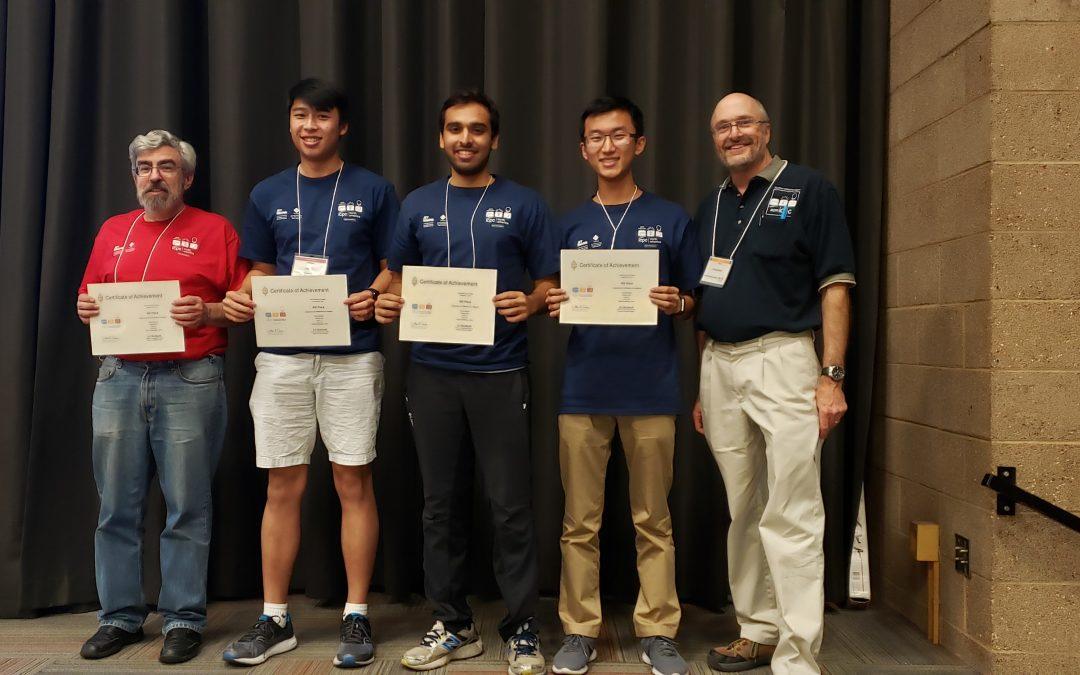 CS Undergraduate Students Win 4th in ICPC Southern California Regionals