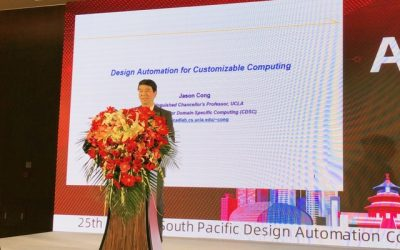 Professor Cong Delivers Keynote speech at ASP-DAC '2020