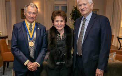Internet Architect Dr. Leonard Kleinrock Receives UCLA Medal