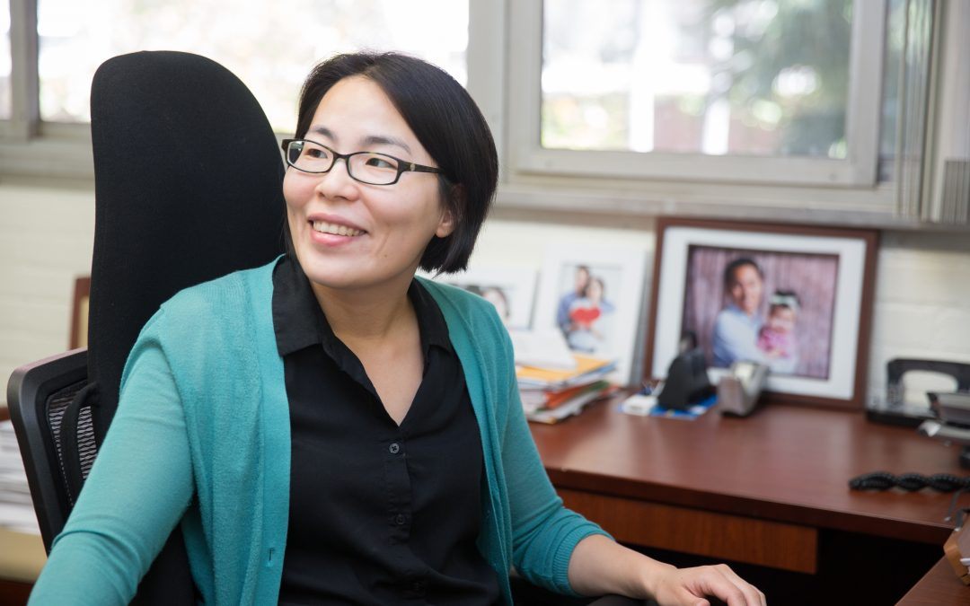 Professor Miryung Kim Receives Faculty in Residence Faculty of the Year Award