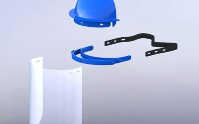 To the rescue: UCLA bioengineers create reusable COVID-19 face shields