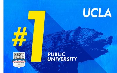 UCLA ranked No. 1 public university for fifth straight year by U.S. News & World Report