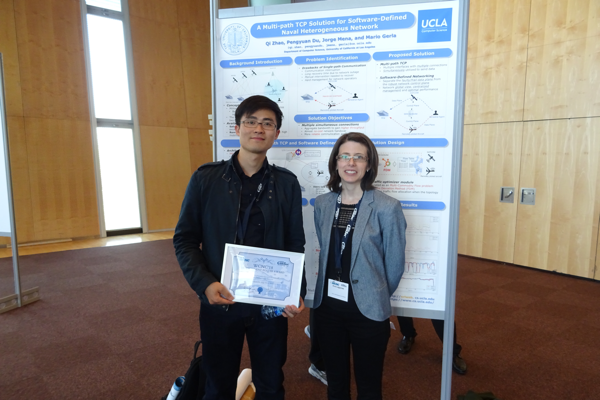 CS Ph.D. Student Qi Zhao Wins Best Poster Award at IEEE WCNC