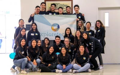 """exploretech.lareceives the """"Emerging Star Award"""" for the 2019-2020 ESUC Student Group of the Year Awards"""