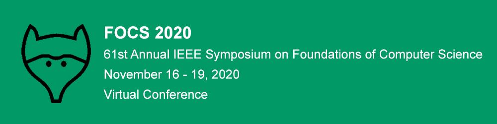 Tutorial at FOCS 2020