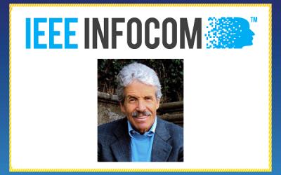 Prof. Mario Gerla Receives 2018 IEEE INFOCOM Achievement Award
