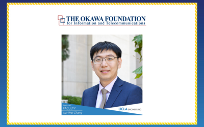 Assistant Professor Kai-Wei Chang Receives 2018 Okawa Research Grant