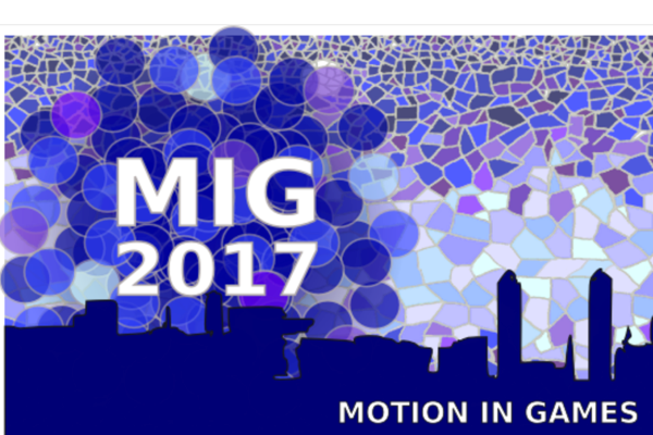 Best Paper Award at ACM SIGGRAPH Conference on Motion in Games 2017