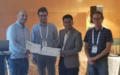 CS Ph.D. studentswin Nvidia Best PaperAward at MICCAI 2018