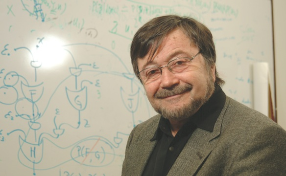 CS Professor Judea Pearl Receives Prize From American Mathematical Society