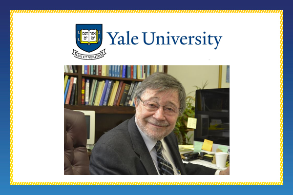 Judea Pearl Receives Honorary Doctorate from Yale University
