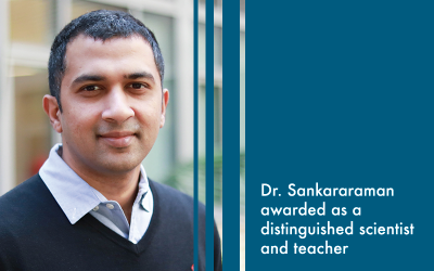 Professor Sriram Sankararaman Awarded Microsoft Investigator Fellowship