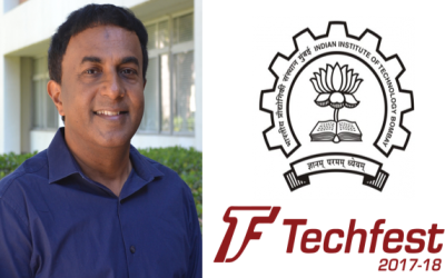 George Varghese: Lecturer at IIT Mumbai Techfest